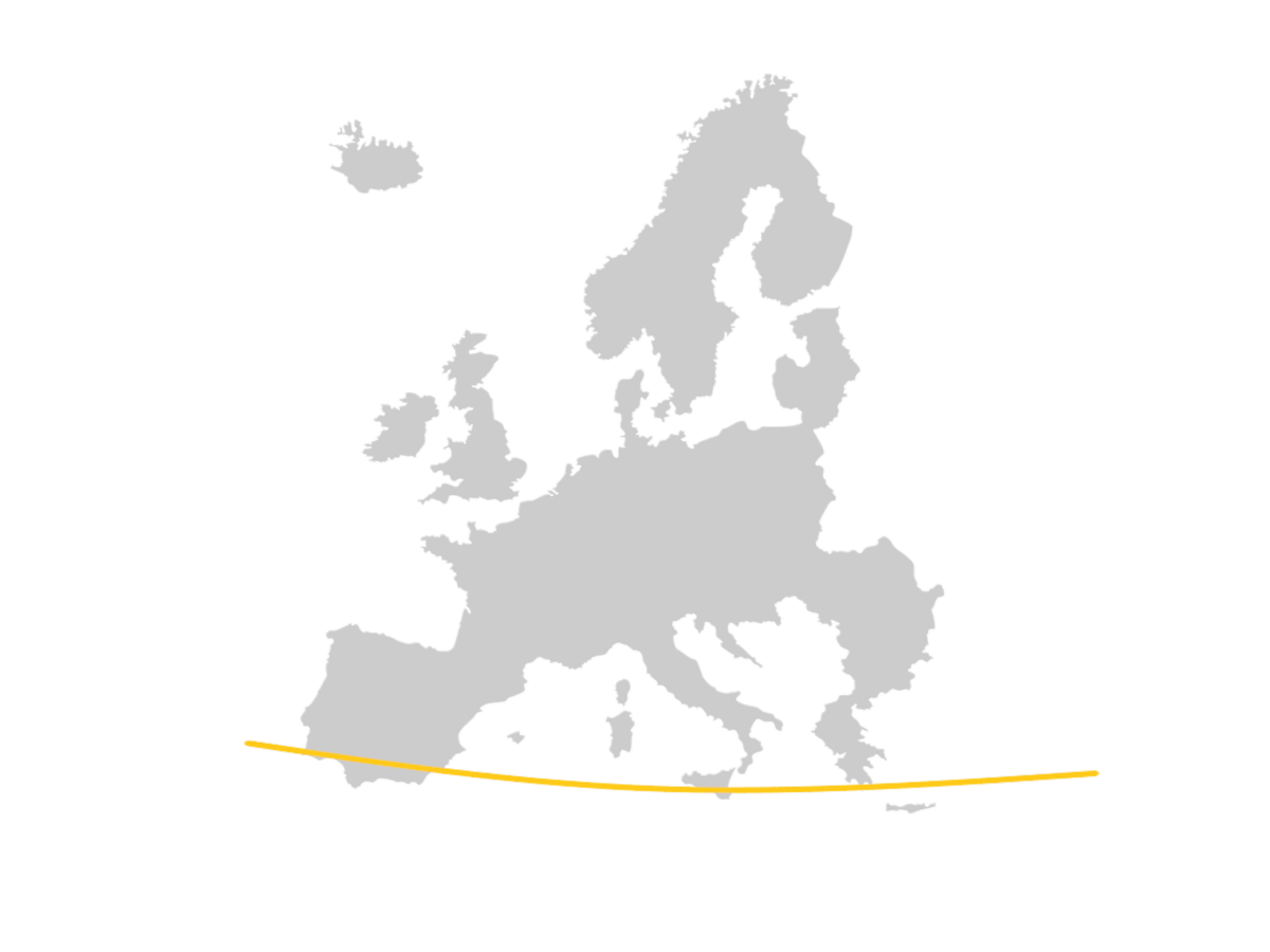 Europe 37 Parallel